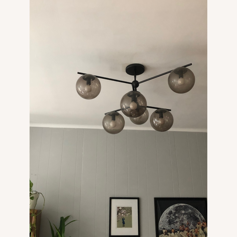 West Elm 6- Sphere Ceiling Light - image-3