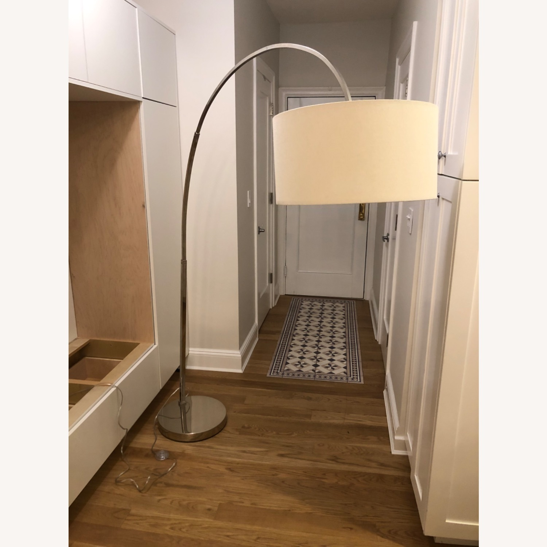 West Elm Overarching Floor Lamp - image-1