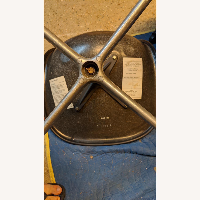Herman Miller Vinyl Swivel Chair Set - image-6