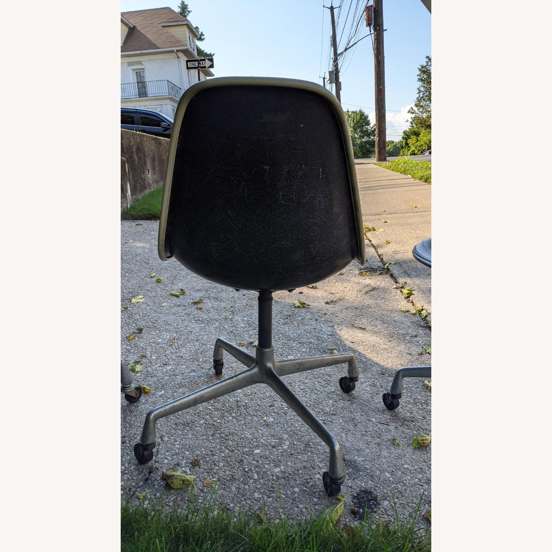 Herman Miller Vinyl Swivel Chair Set - image-13