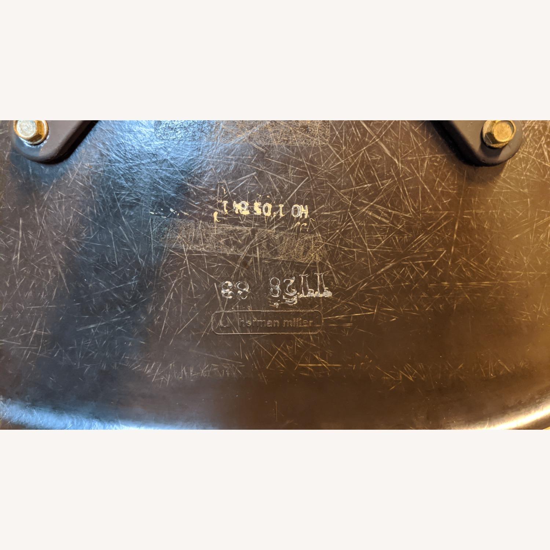 Herman Miller Vinyl Swivel Chair Set - image-8