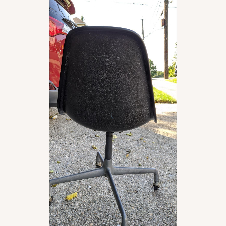 Herman Miller Vinyl Swivel Chair Set - image-11