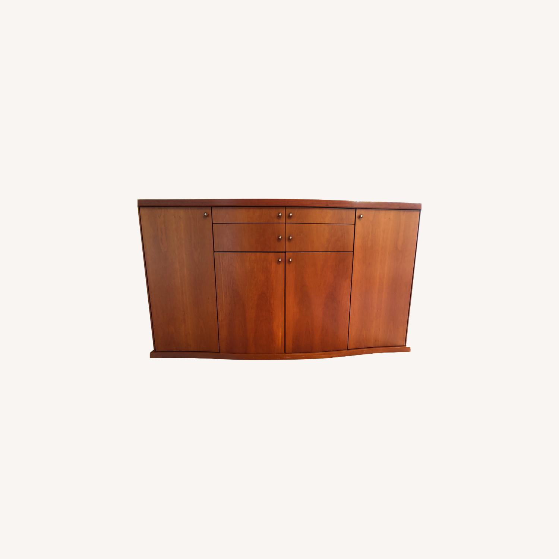 Skovby Cherry Wood Dining Room Sideboard - image-0