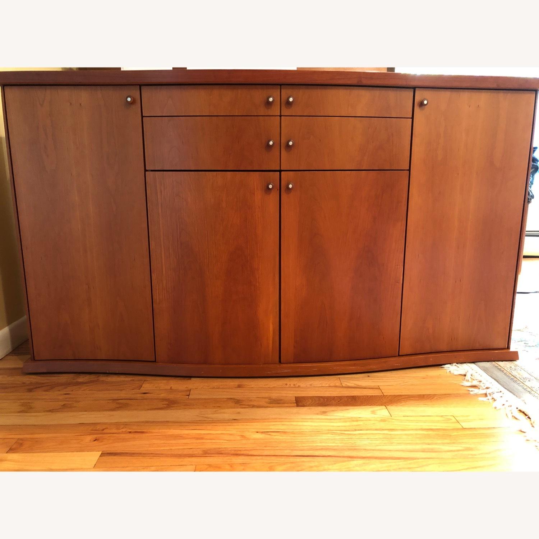 Skovby Cherry Wood Dining Room Sideboard - image-1