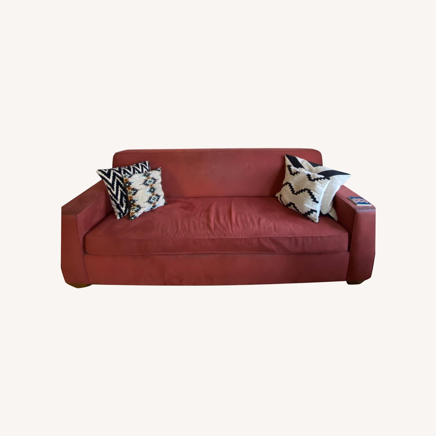 Queen Size Sleeper Couch - image-0