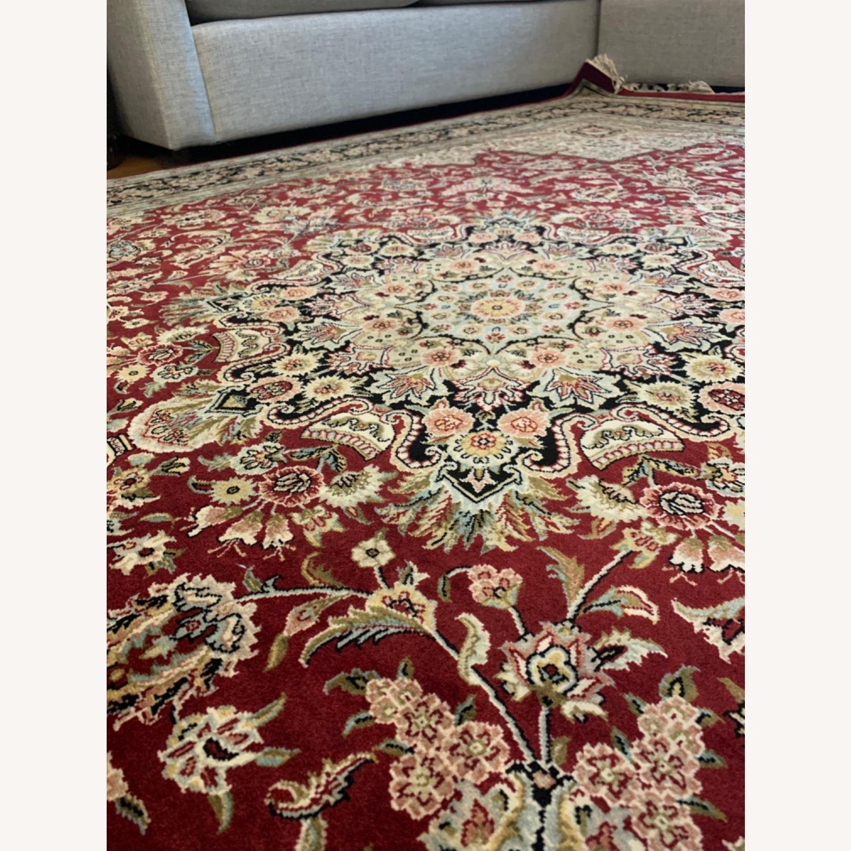 Hand Woven Wool Rug - image-9