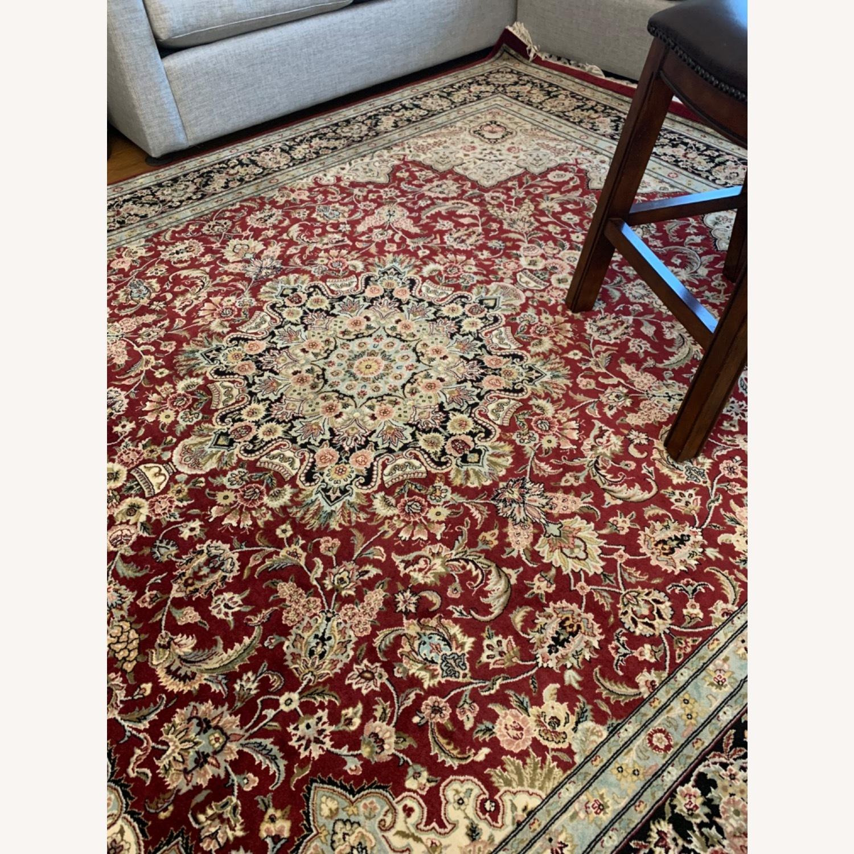 Hand Woven Wool Rug - image-18