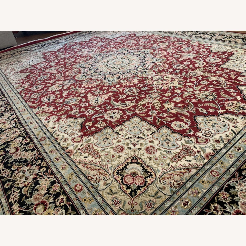 Hand Woven Wool Rug - image-16