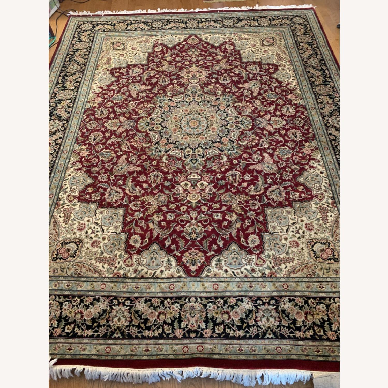Hand Woven Wool Rug - image-1