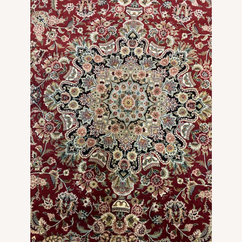 Hand Woven Wool Rug - image-11