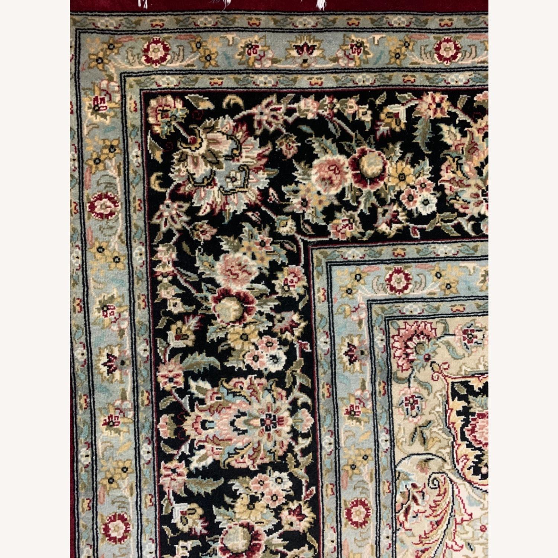Hand Woven Wool Rug - image-12