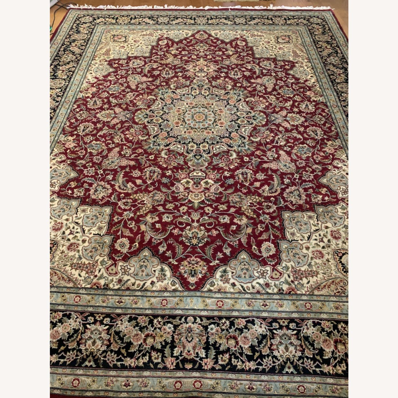 Hand Woven Wool Rug - image-8