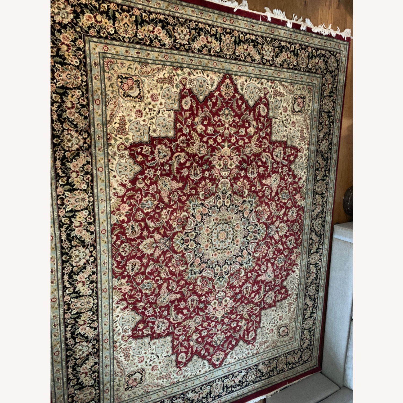 Hand Woven Wool Rug - image-4