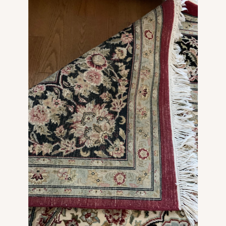 Hand Woven Wool Rug - image-5