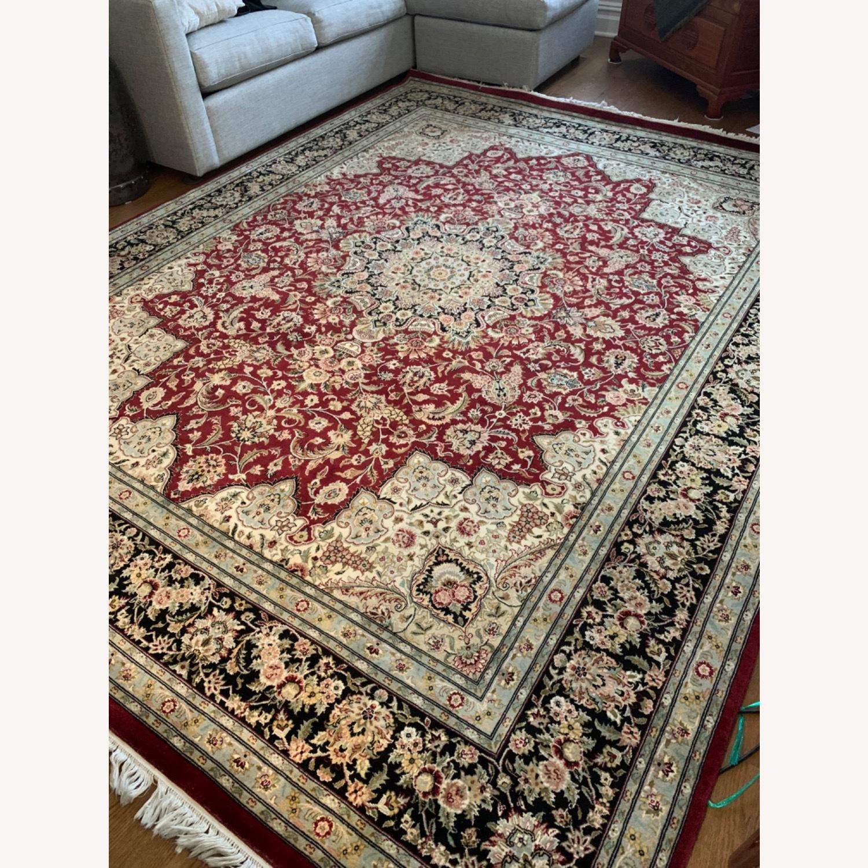 Hand Woven Wool Rug - image-3