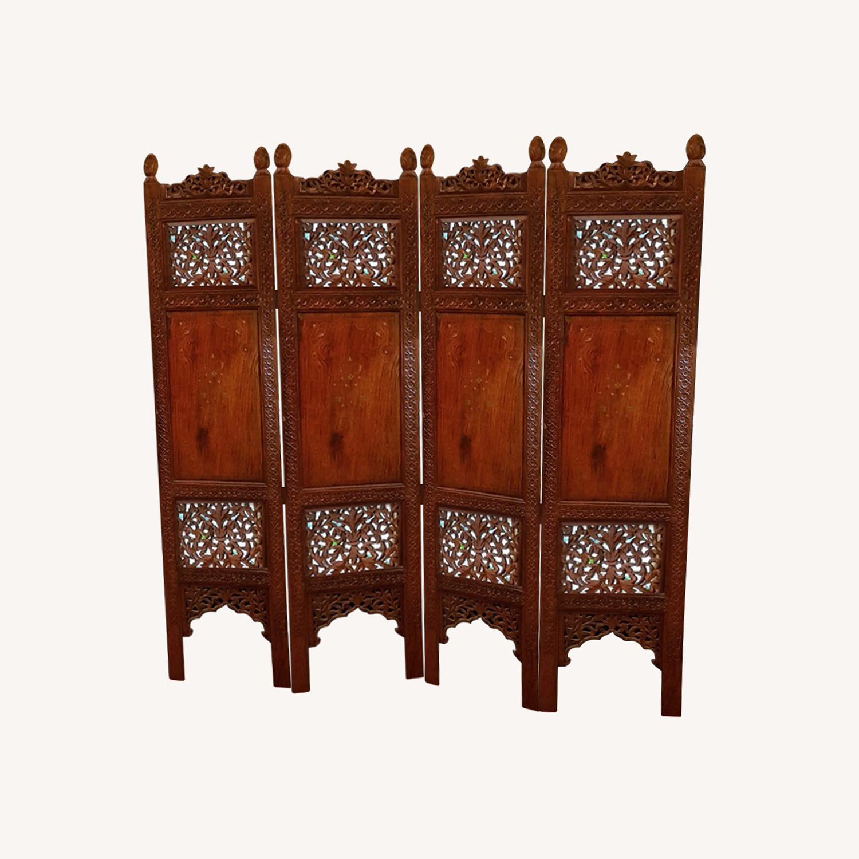 Antique Indian Pakistani Room Divider - image-0