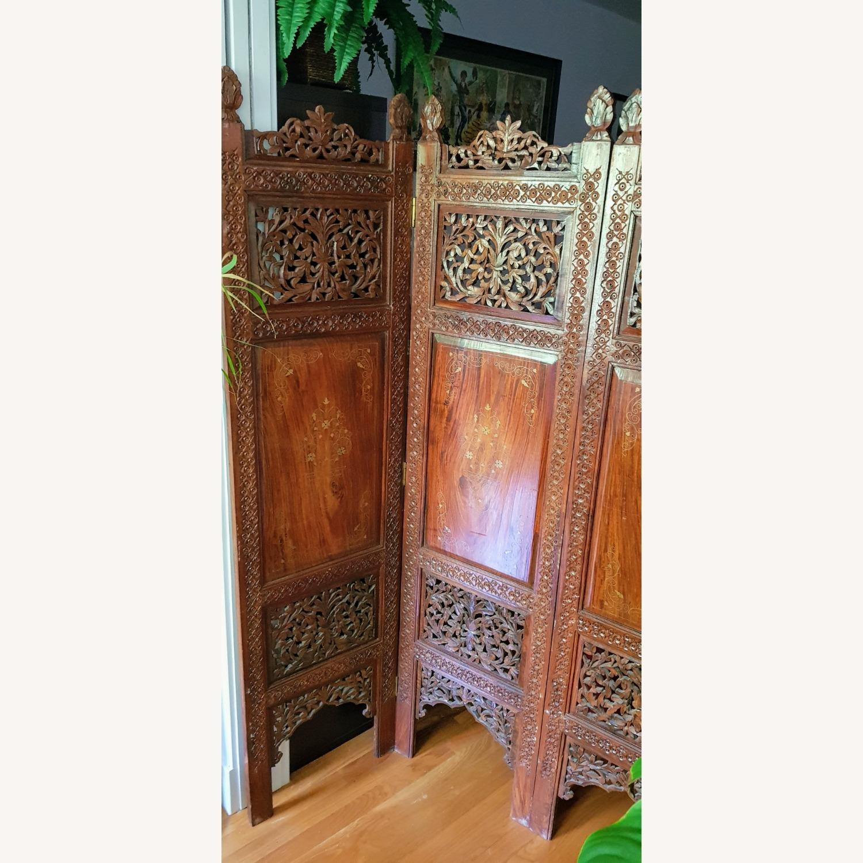 Antique Indian Pakistani Room Divider - image-4