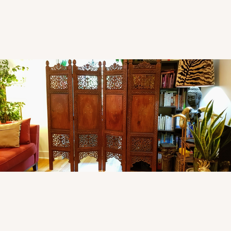 Antique Indian Pakistani Room Divider - image-7