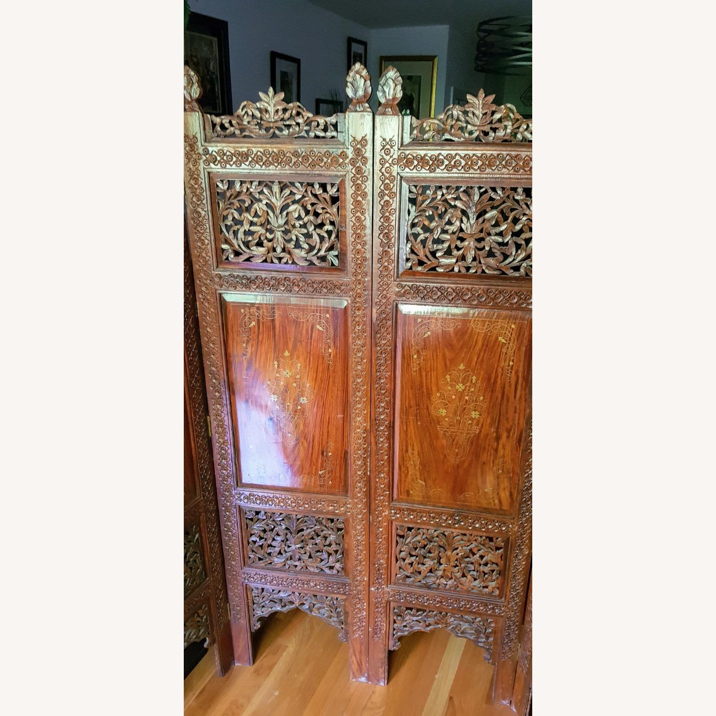 Antique Indian Pakistani Room Divider - image-5