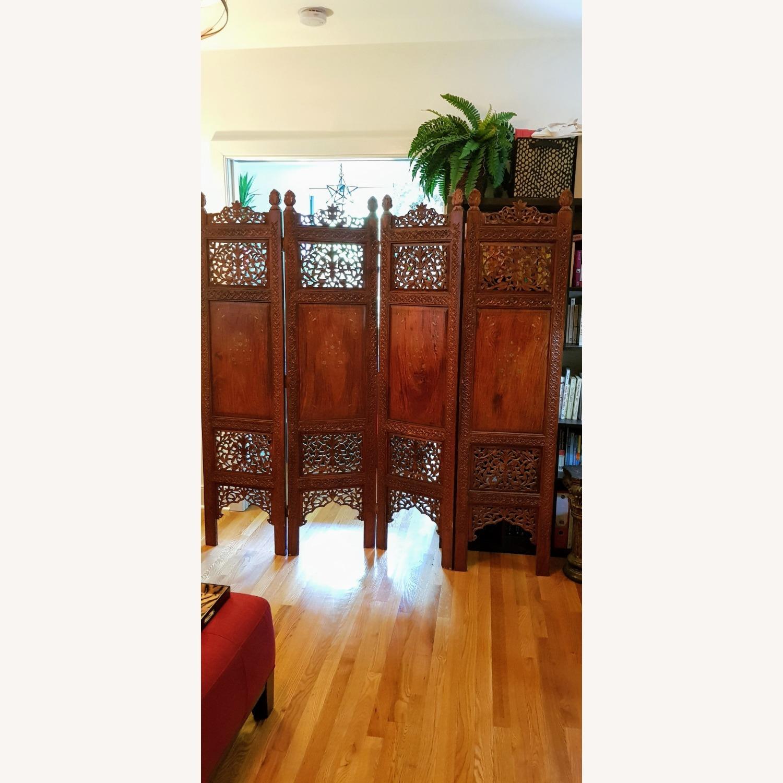 Antique Indian Pakistani Room Divider - image-1