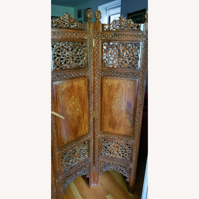 Antique Indian Pakistani Room Divider - image-6