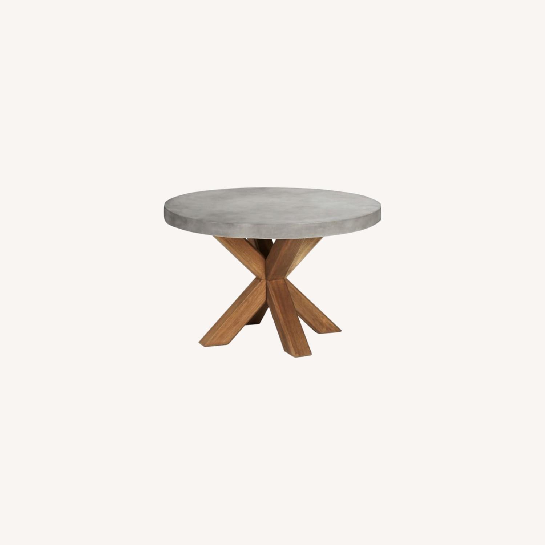 Pottery Barn Abbott Concrete Table - image-0