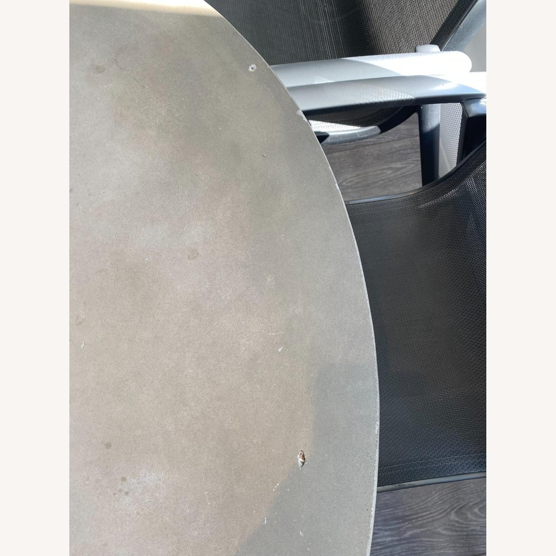 Pottery Barn Abbott Concrete Table - image-3