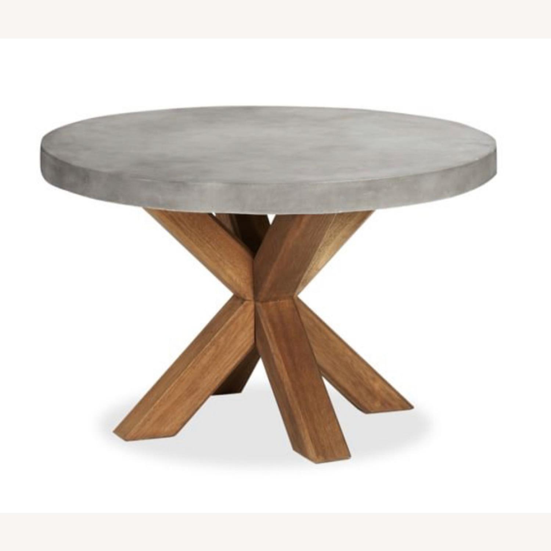 Pottery Barn Abbott Concrete Table - image-4
