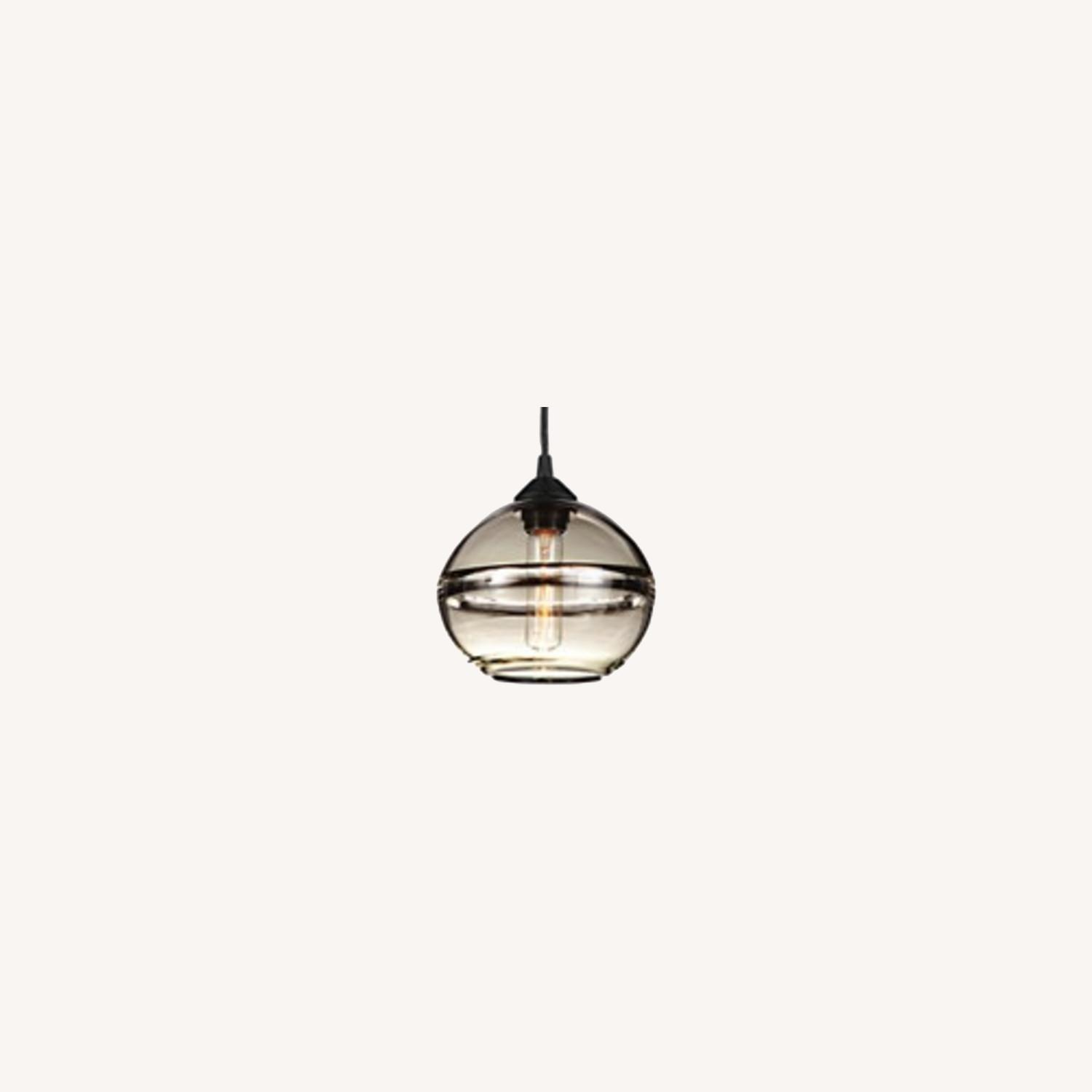 Room and Board Banded Pendant Light (1) - image-0