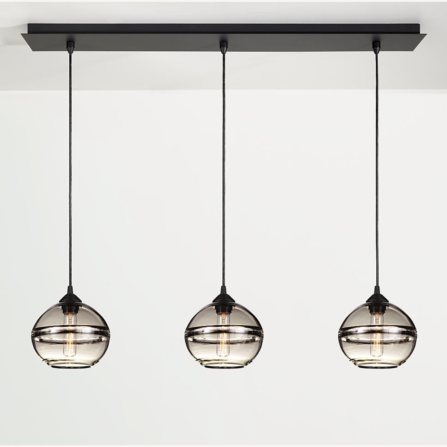 Room and Board Banded Pendant Light (1) - image-2