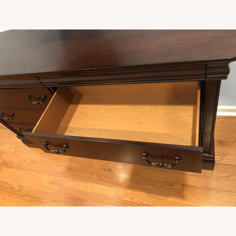 Wayfair Alcott Hill Mahogany 6 Drawer Double Dresser - image-6