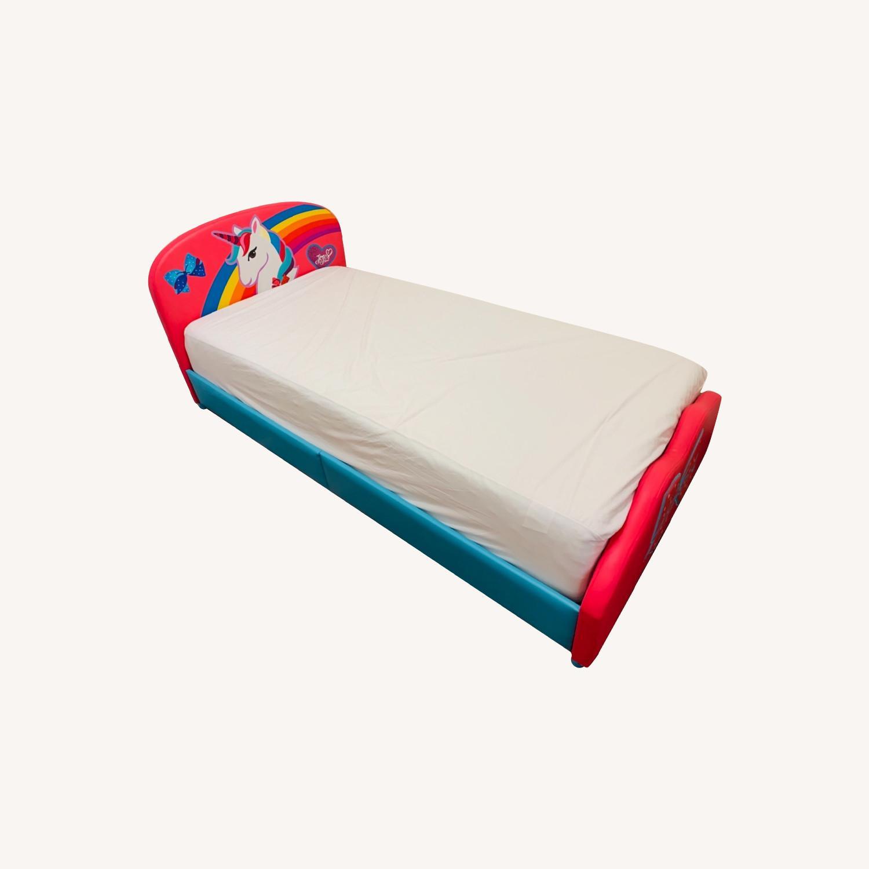 JoJo Siwa Upholstered Twin Platform Bed - image-0