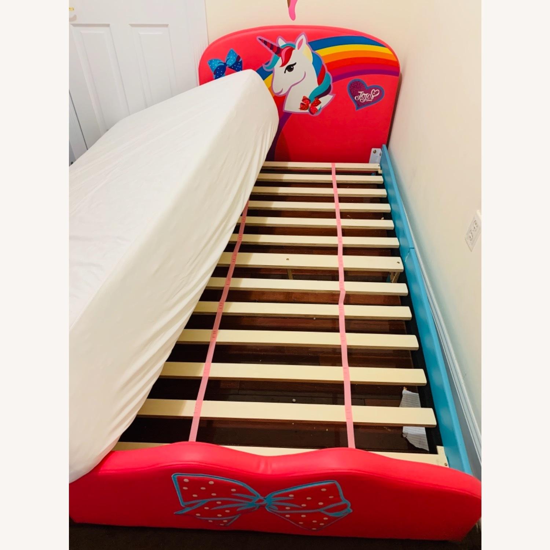 JoJo Siwa Upholstered Twin Platform Bed - image-1