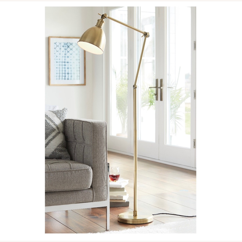 Target Gold Task Lamp (Adjustable) - image-2