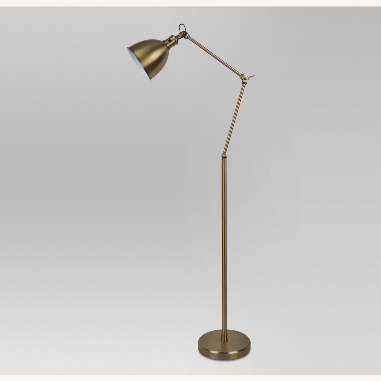 Target Gold Task Lamp (Adjustable) - image-0