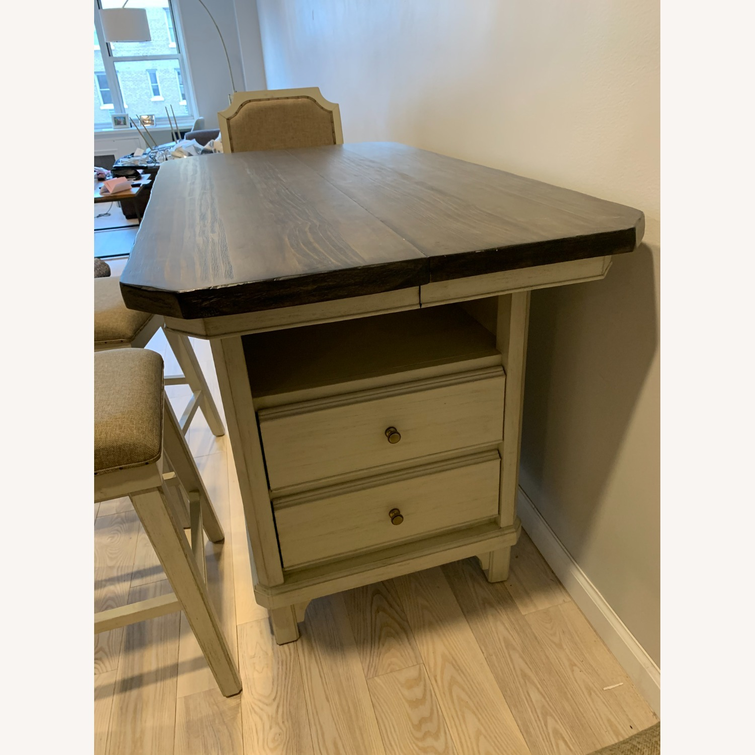 Peter Andrews Kitchen Island Table - image-2