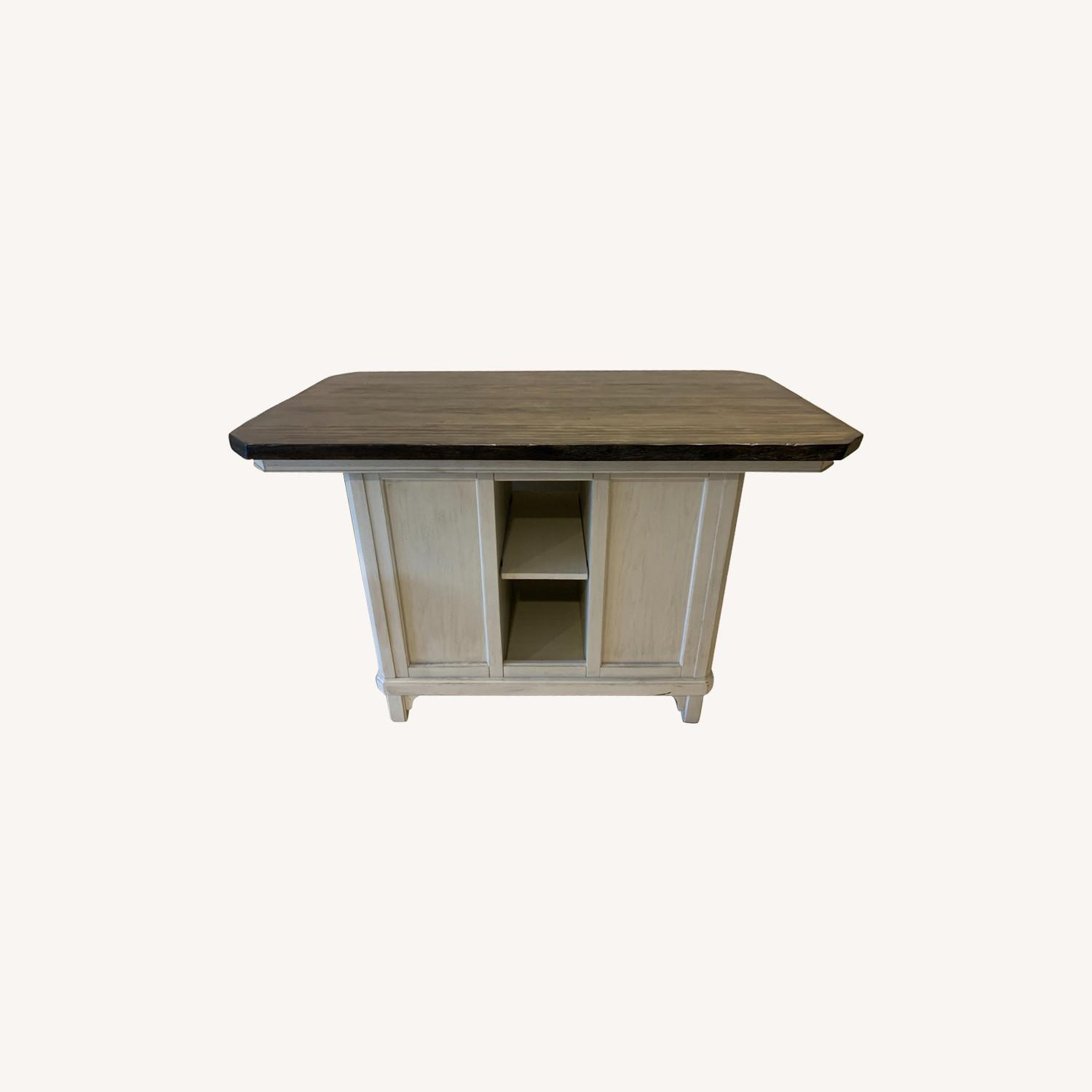 Peter Andrews Kitchen Island Table - image-0