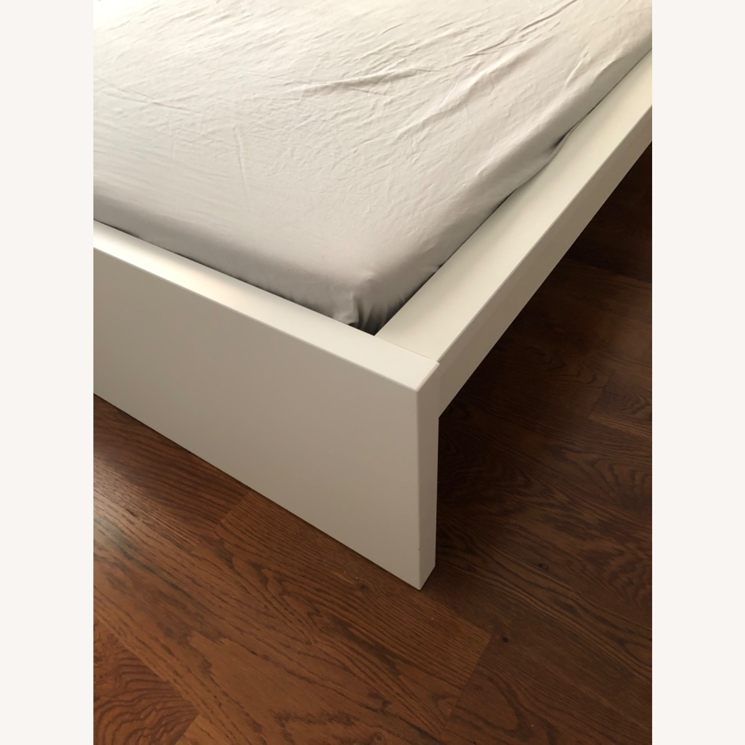 IKEA Malm White Queen Size Bed - image-5
