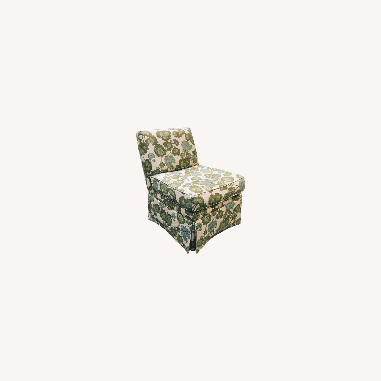 Upholstered Slipper Chair - image-0