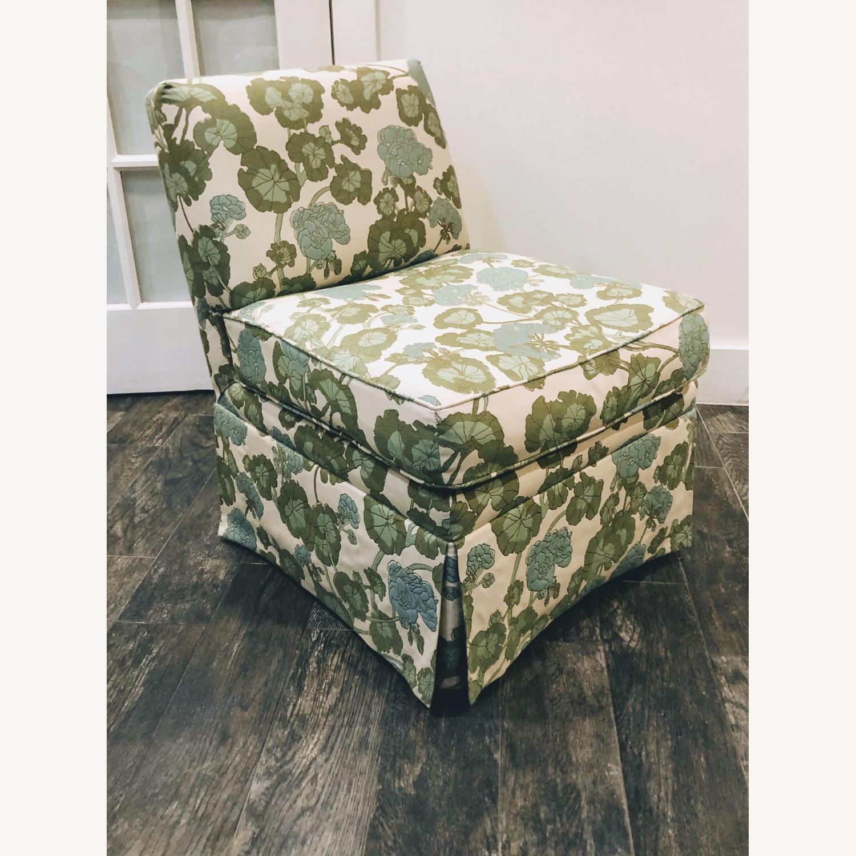 Upholstered Slipper Chair - image-1