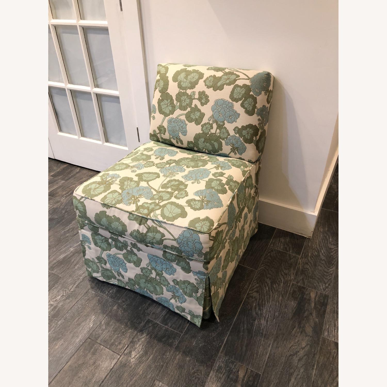 Upholstered Slipper Chair - image-4