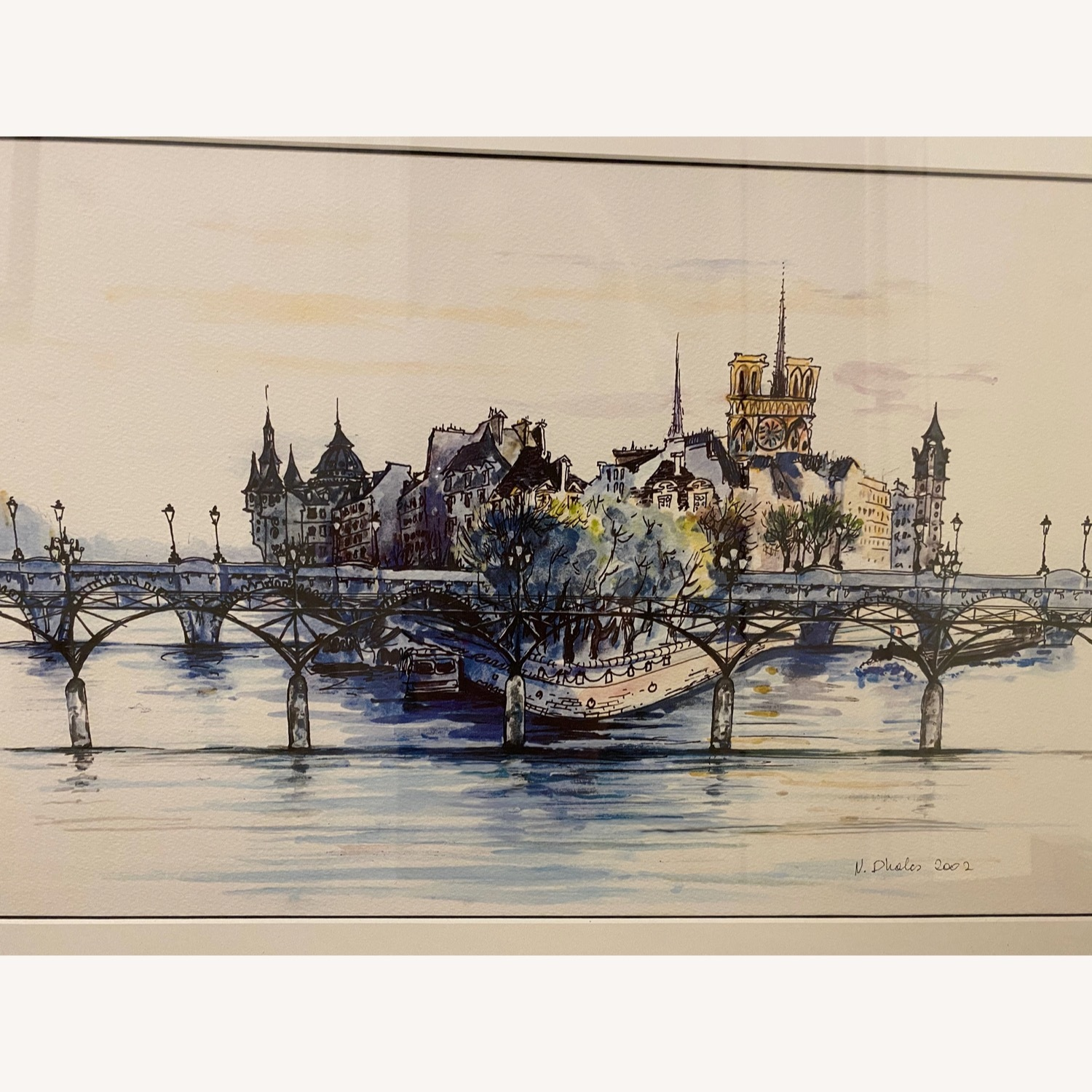 Water Color from Paris - image-3
