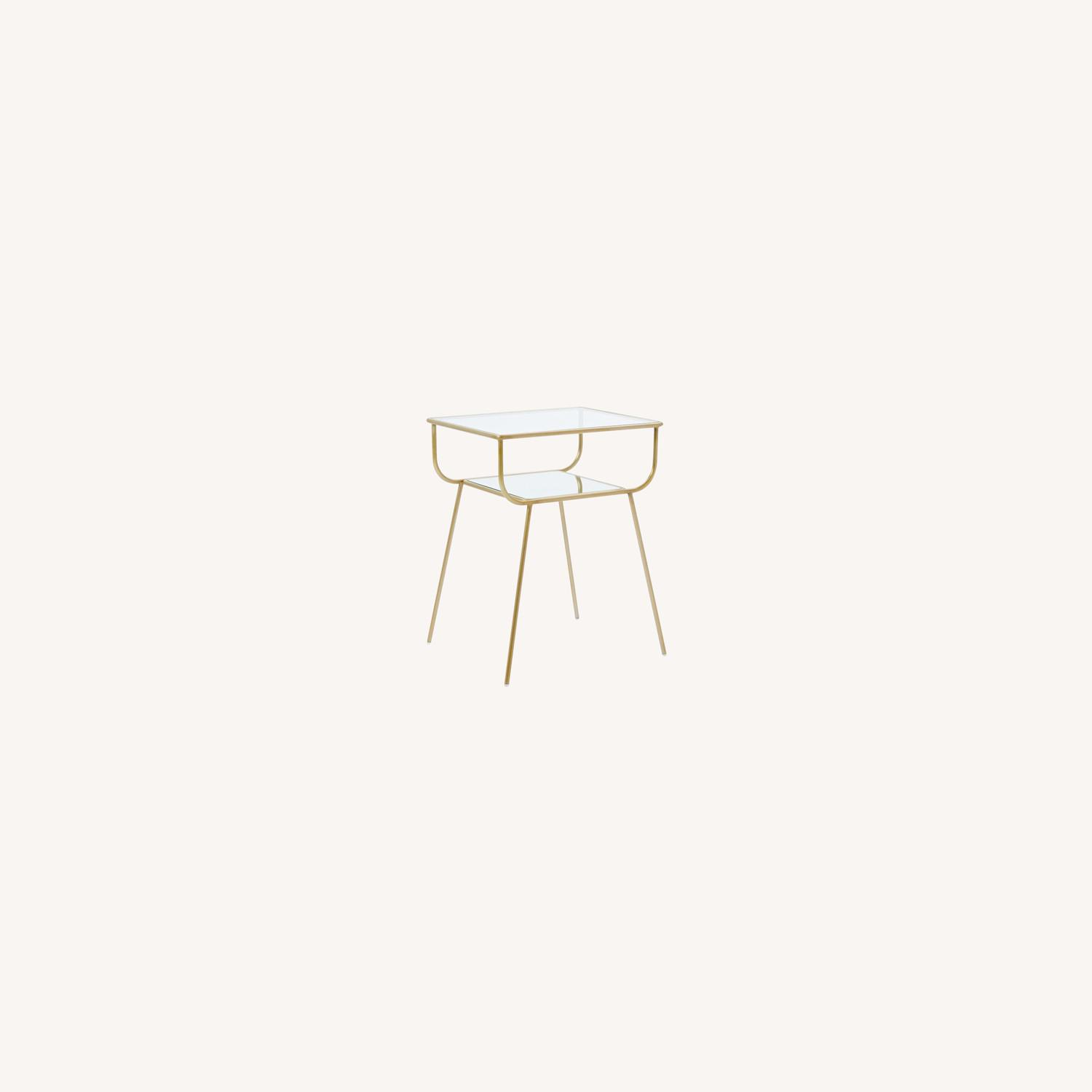 West Elm Curved Terrace Nightstand - image-0