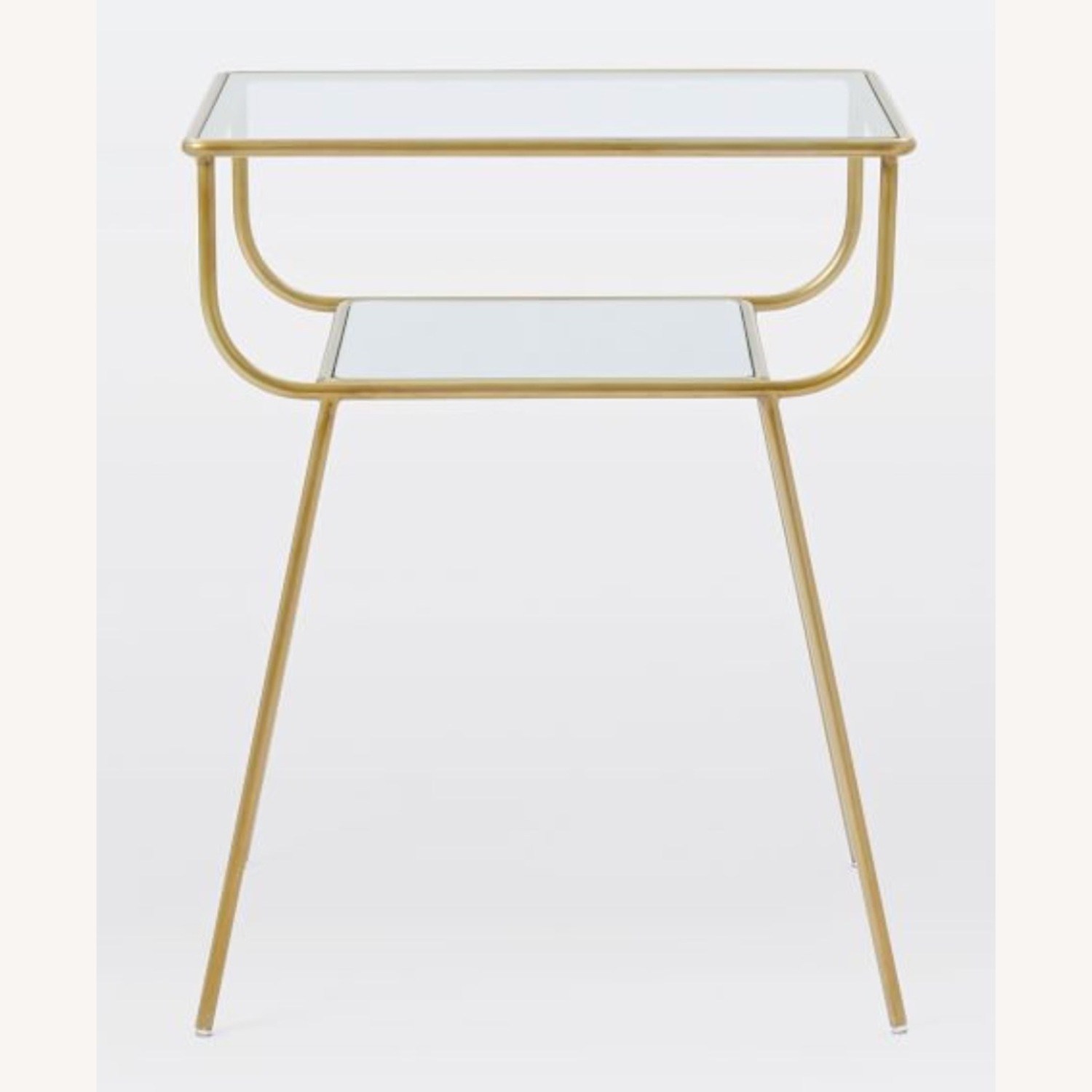 West Elm Curved Terrace Nightstand - image-4