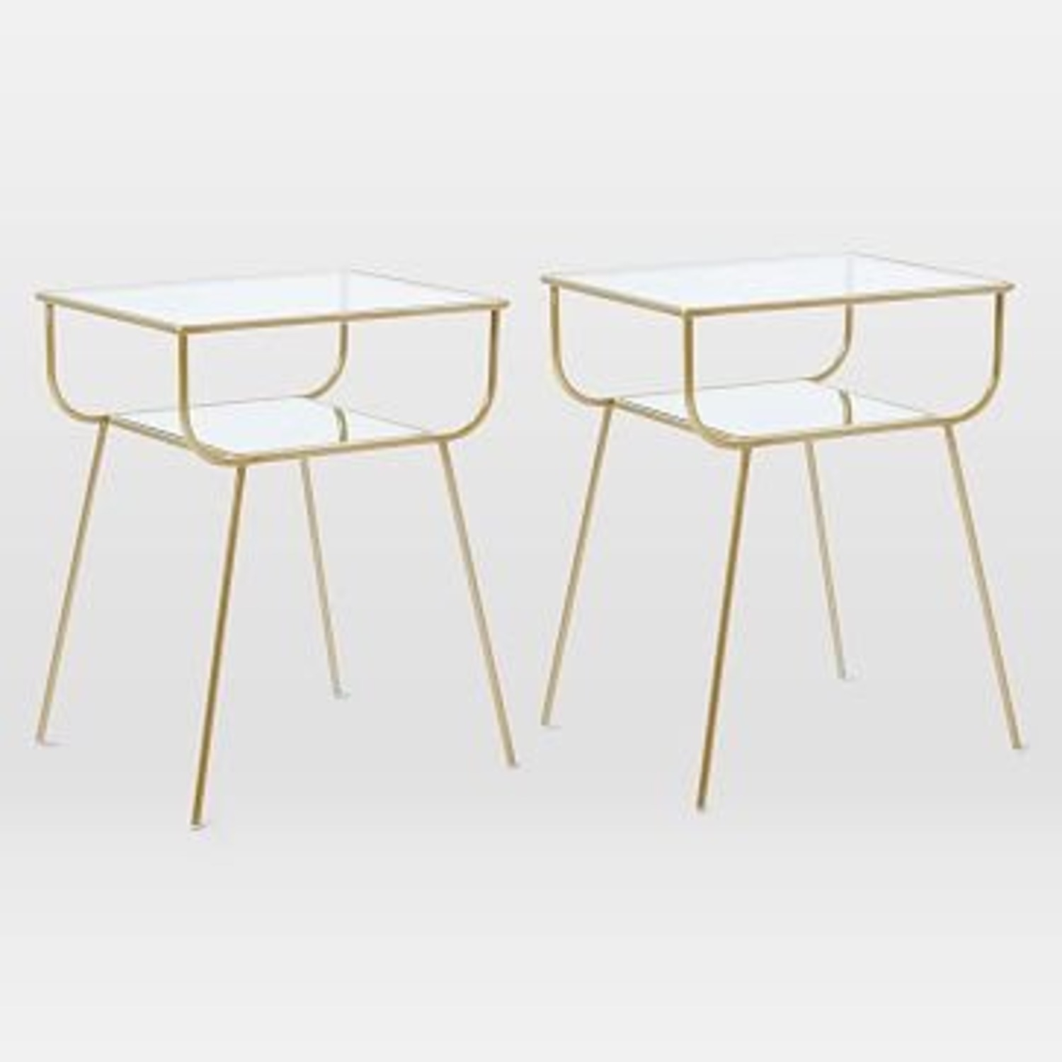 West Elm Curved Terrace Nightstand - image-2