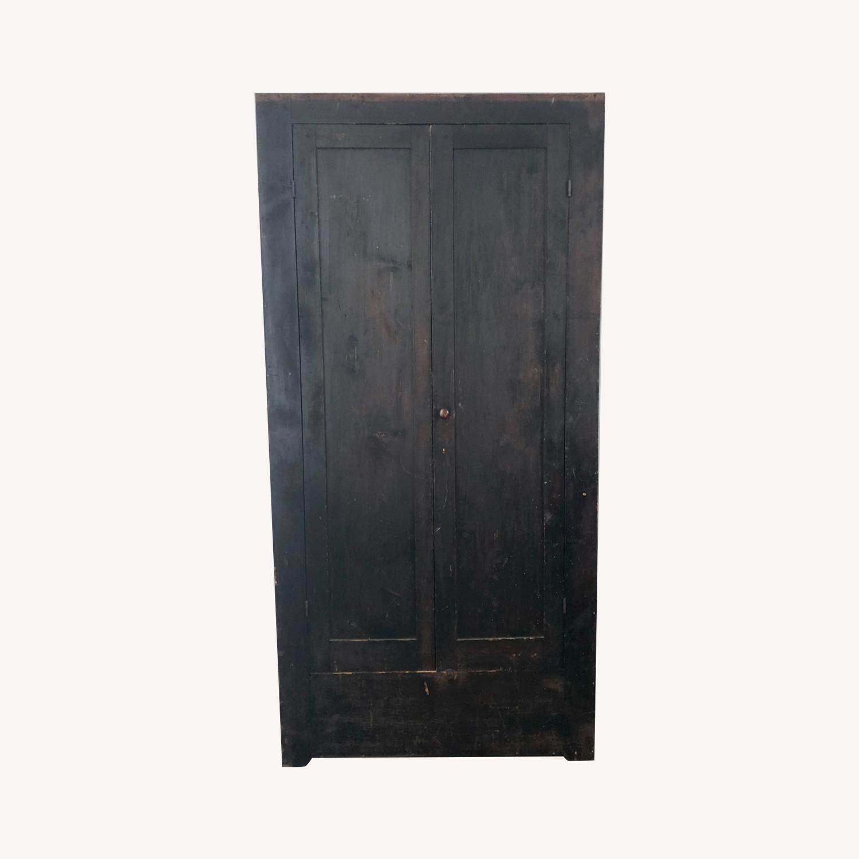 Antique Primitive Armoire - image-0