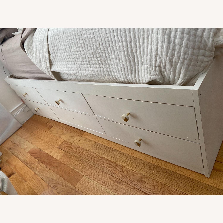 Custom Full Size Platform Storage Bed - image-4