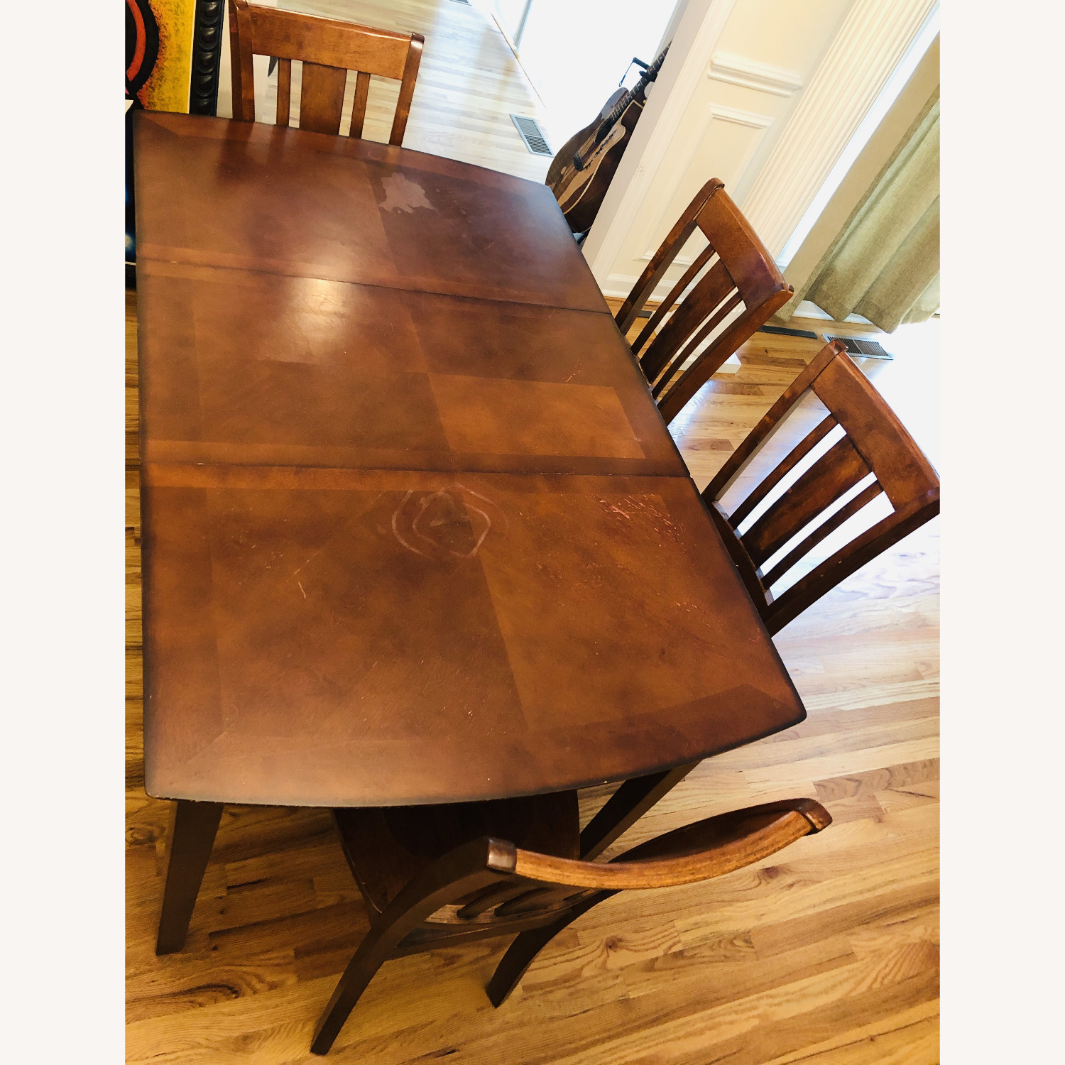 Vintage Dining Set (Incl 4 Chairs + Ext) - image-1