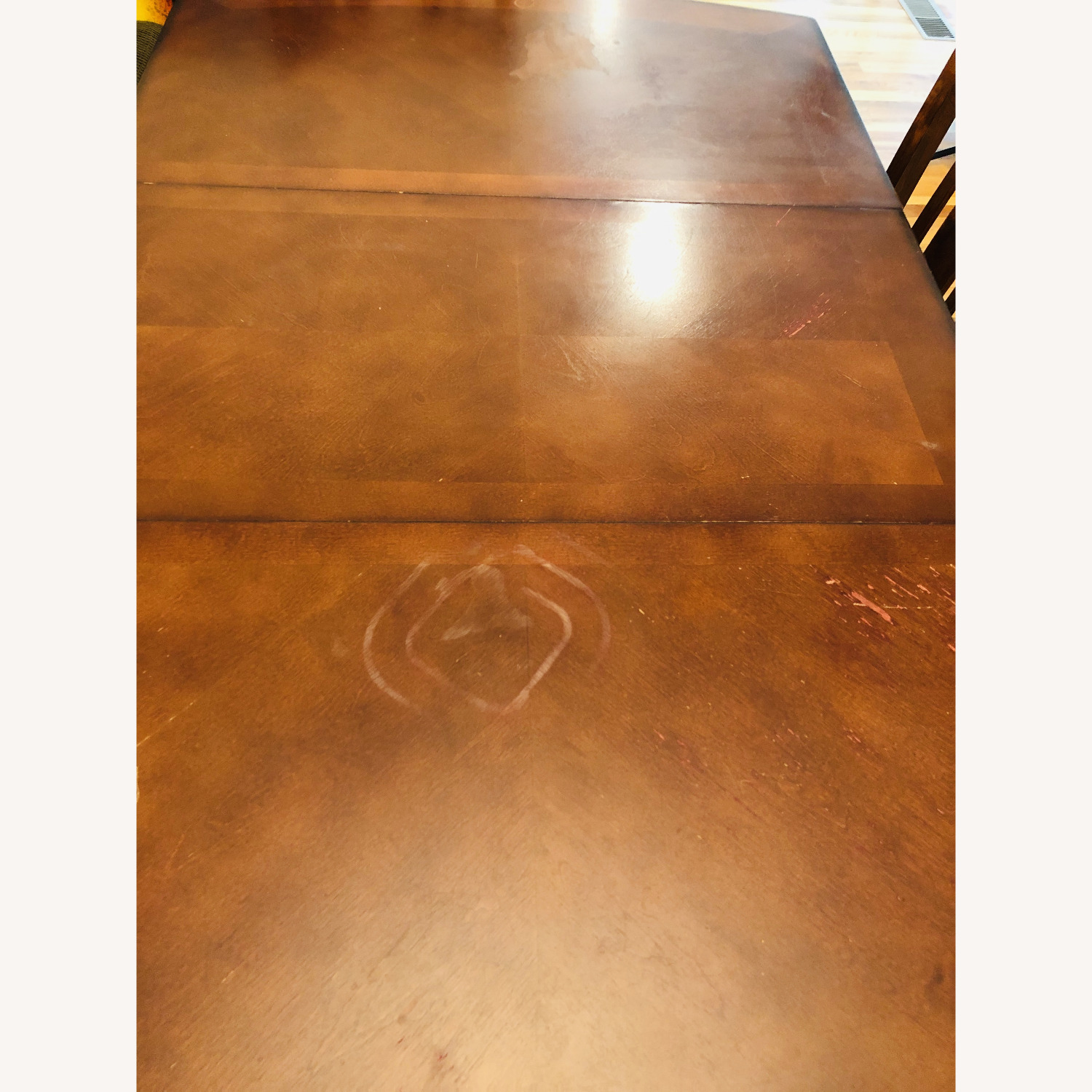 Vintage Dining Set (Incl 4 Chairs + Ext) - image-2