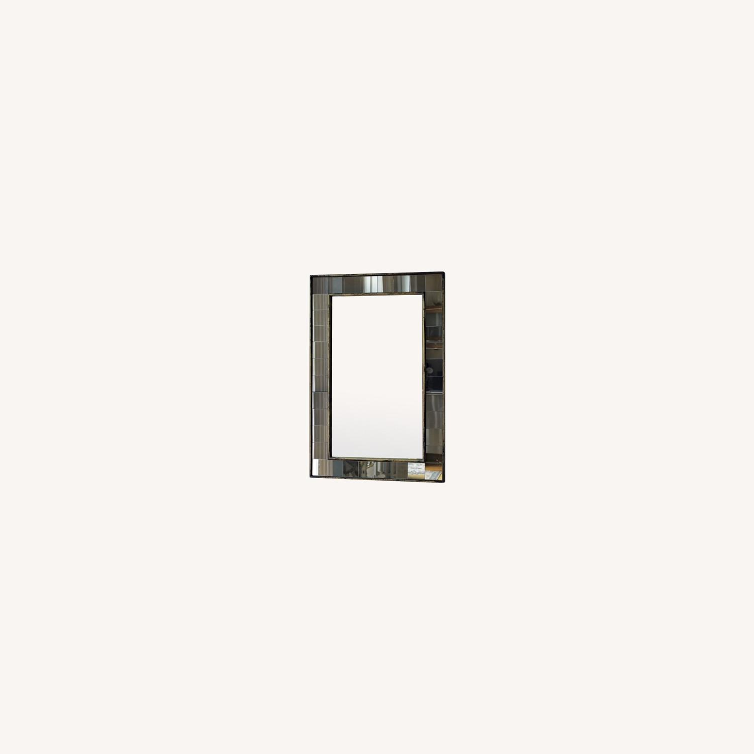 West Elm Antique Tiled Mirror - image-0